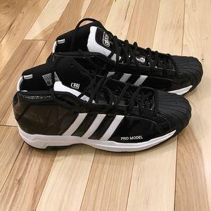 NWOT Adidas Performance Pro Model 2G Black Size 14